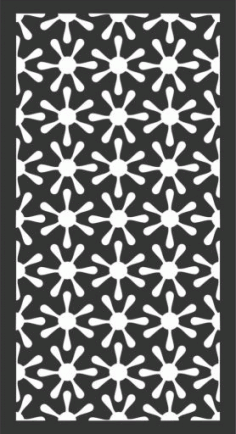 Decorative Screen Patterns For Laser Cutting 159 Free DXF File