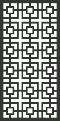 Decorative Screen Patterns For Laser Cutting 168 Free DXF File