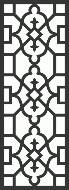 Decorative Screen Patterns For Laser Cutting 180 Free DXF File