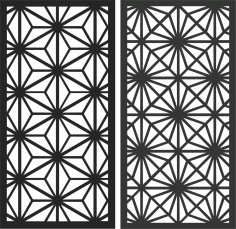 Decorative Screen Patterns For Laser Cutting 181 Free DXF File