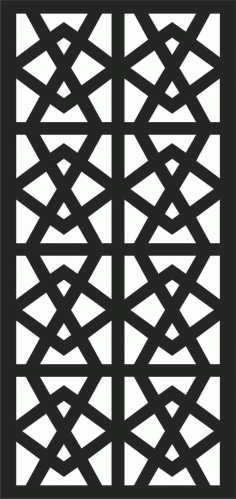 Decorative Screen Patterns For Laser Cutting 187 Free DXF File
