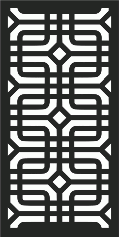 Decorative Screen Patterns For Laser Cutting 191 Free DXF File