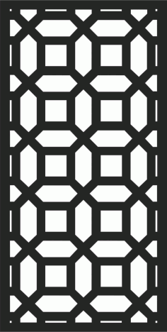 Decorative Screen Patterns For Laser Cutting 195 Free DXF File