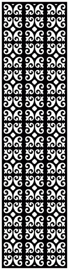 Decorative Screen Patterns For Laser Cutting 1910 Free DXF File