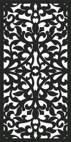 Screen Panel Patterns Seamless 1 Free DXF File