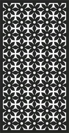 Screen Panel Patterns Seamless 13 Free DXF File