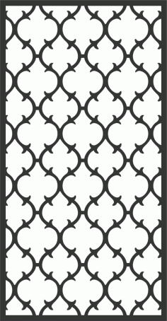 Screen Panel Patterns Seamless 33 Free DXF File