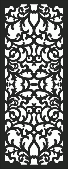 Screen Panel Patterns Seamless 42 Free DXF File