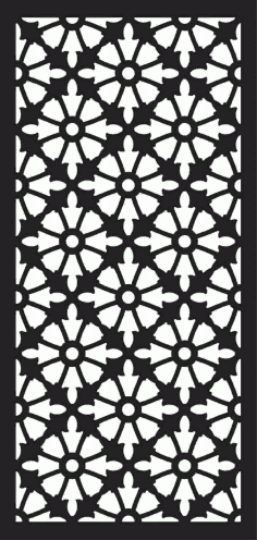 Screen Panel Patterns Seamless 51 Free DXF File