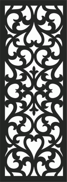 Screen Panel Patterns Seamless 53 Free DXF File