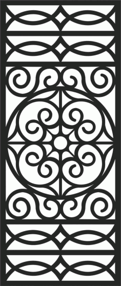 Screen Panel Patterns Seamless 74 Free DXF File