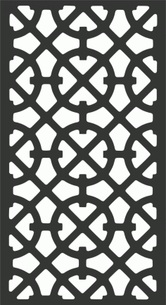 Screen Panel Patterns Seamless 80 Free DXF File