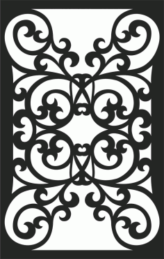 Screen Panel Patterns Seamless 82 Free DXF File