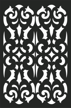 Screen Panel Patterns Seamless 87 Free DXF File
