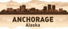 Anchorage Skyline Free CDR Vectors Art