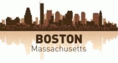 Boston Skyline Free CDR Vectors Art