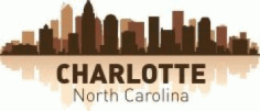 Charlotte Skyline Free CDR Vectors Art