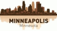 Minneapolis Skyline Free CDR Vectors Art