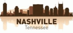 Nashville Skyline Free CDR Vectors Art