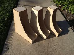 Magazine Holder 3mm Plywood Free DXF File