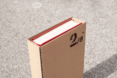 Laser Cut Book Slipcase Free DXF File