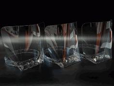 Laser Cut Full Face Shield Free DXF File