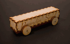 Laser Cut Derby Car 3mm Baltic Birch Plywood Free DXF File