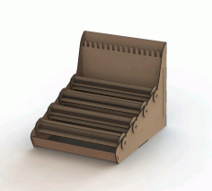Laser Cut Bracelet Holder Jewelry Organizer Free DXF File