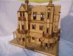 Baskerville Hall Free DXF File