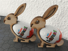 Easter Bunny Free DXF File