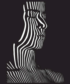 Illusion Vector Faca Free DXF File