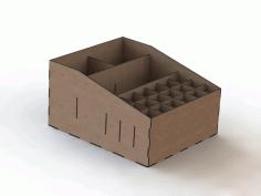 Desktop Organizer In The Form Of A Box Free CDR Vectors Art