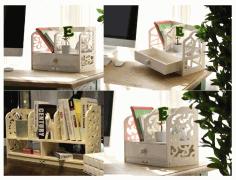 A Shelf For Books Orgonizer Laser Cut Free CDR Vectors Art