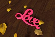 Laser Cut Love Heart Decor Free CDR Vectors Art