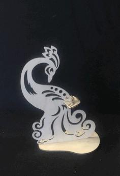 Laser Cut Salfetnitsa Ptitsa Schastya Free CDR Vectors Art