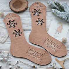 Wooden Socks Blockers Adjustable Sizes Sock Blockers Socks Forms Free CDR Vectors Art