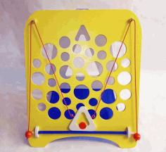 Laser Cut Cheese Board Game Gruyere Game Board Hole Board Game Kids Game Free CDR Vectors Art