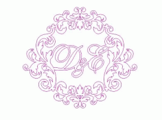 Name Wall Decal Vinyl Lettering Decal Sticker Frame Custom Decals Personalized Free CDR Vectors Art