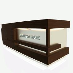 Reception Desk Free DXF File