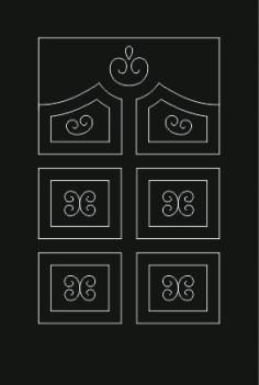Kitchen Cabinet Design Free DXF File