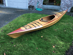 Laser Cut Wooden Boats Free DXF File