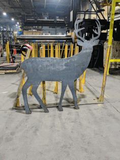 Life Size Buck Deer Free DXF File