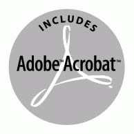 Adobe Acrobat Includes Logo EPS Vector