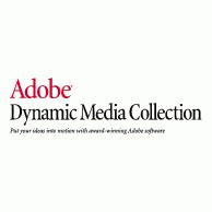 Adobe Dynamic Media Collection Logo EPS Vector