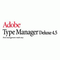 Adobe Type Manager Delux 4.5 Logo EPS Vector