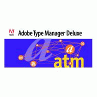 Adobe Type Manager Deluxe Logo EPS Vector