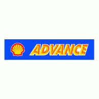 Advance Shell Logo EPS Vector