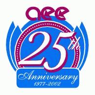 Aee 25th Anniversary Logo EPS Vector
