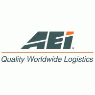 AEI Quality Worldwide Logistics Logo EPS Vector