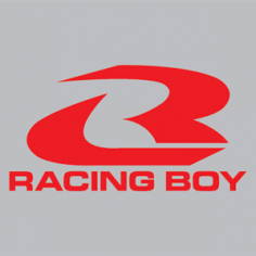 Racing Boy Logo Vector Free AI File